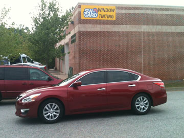 nissan altima window tinting